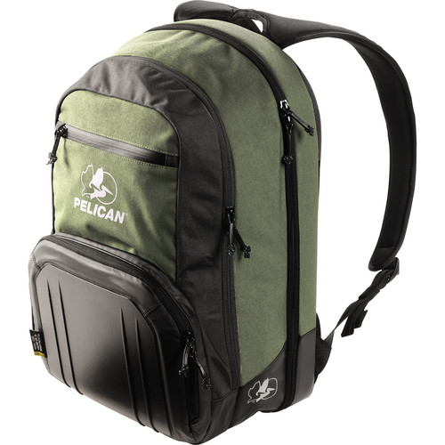 Pelican S105 Sport Laptop Backpack (Green on Black)