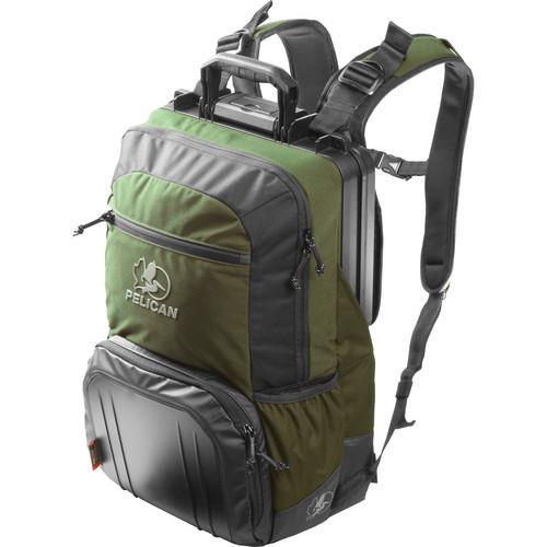 Pelican S140 Sport Elite Tablet Backpack (Green on Black)
