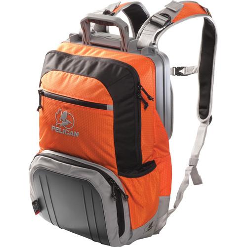 Pelican S140 Sport Elite Tablet Backpack (Orange on Black and Gray)