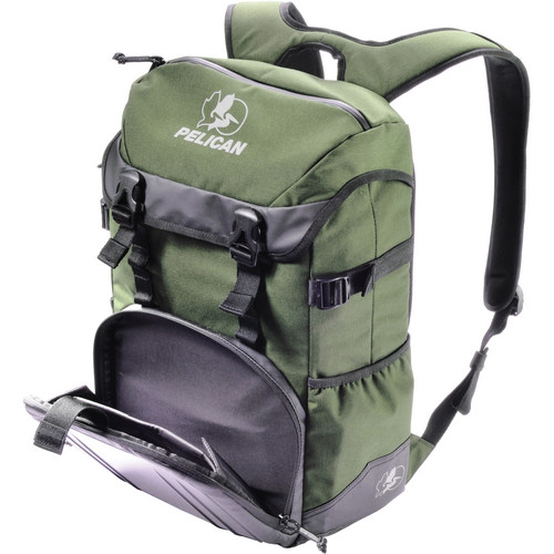 Pelican S145 Sport Tablet Backpack (Green on Black)