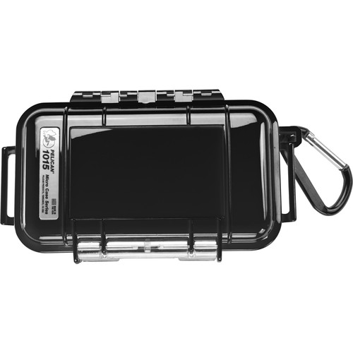 Pelican 1015 Micro Case (Solid Black)