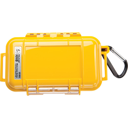Pelican 1015 Micro Case (Solid Yellow)