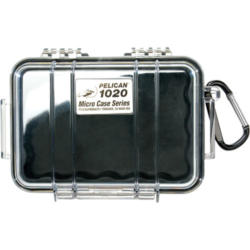Pelican 1020 Micro Case (Clear Black)