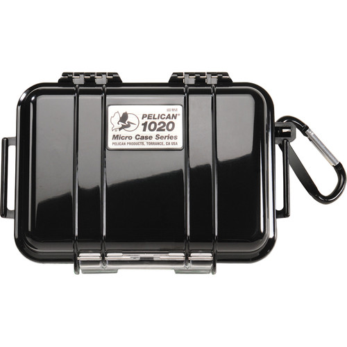Pelican 1020 Micro Case (Solid Black)