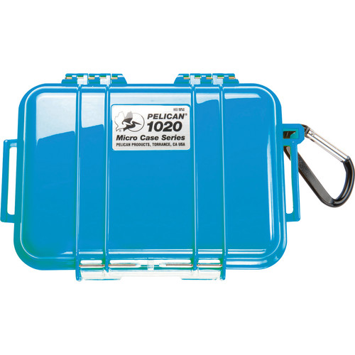 Pelican 1020 Micro Case (Solid Blue)