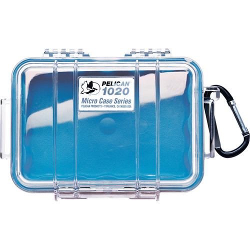 Pelican 1020 Micro Case (Clear Blue)