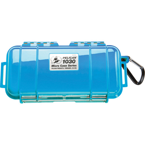 Pelican 1030 Micro Case (Solid Blue with Black Lining)