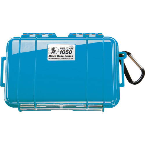 Pelican 1050 Solid Micro Case (Blue)