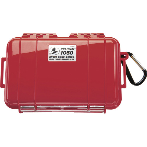 Pelican 1050 Solid Micro Case (Red)
