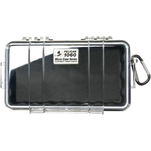 Pelican 1060 Clear Micro Case (Black)