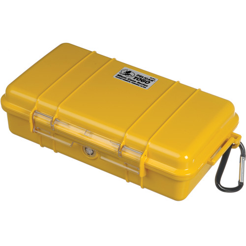 Pelican 1060 Solid Micro Case (Yellow)
