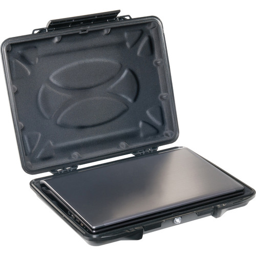Pelican 1085CC Hardback Laptop Computer Case with Laptop Liner (Black)