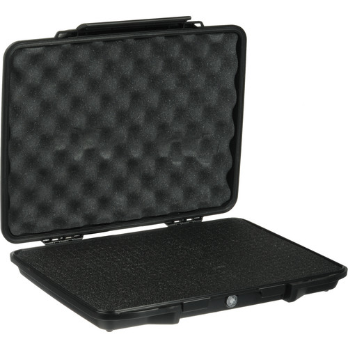 Pelican 1085 Hardback Laptop Computer Case with Foam (Black)