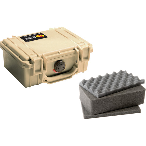 Pelican 1120 Case with Foam (Desert Tan)