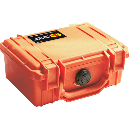Pelican 1120 Case without Foam (Orange)