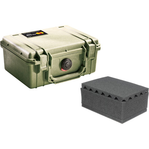Pelican 1150 Case with Foam (Olive Drab Green)