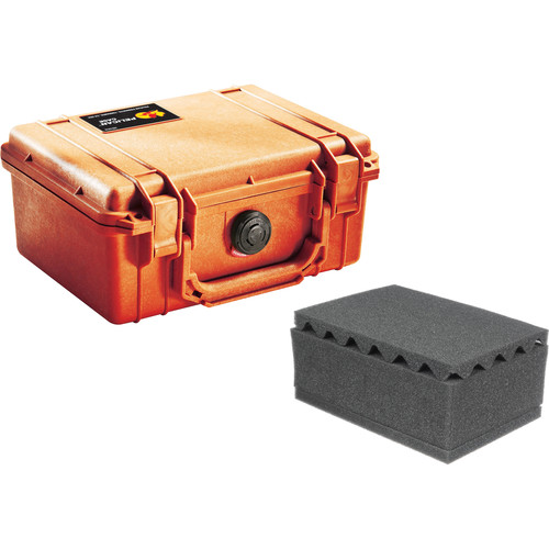 Pelican 1150 Case with Foam (Orange)