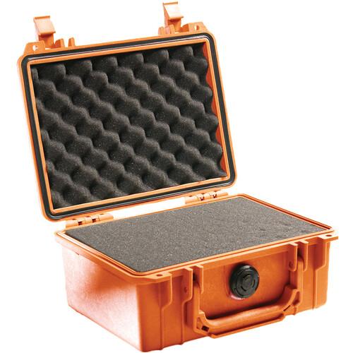 Pelican 1150 Case with Foam (Orange)