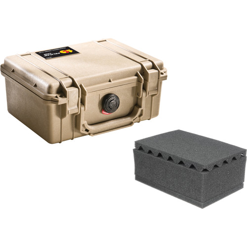 Pelican 1150 Case with Foam (Desert Tan)
