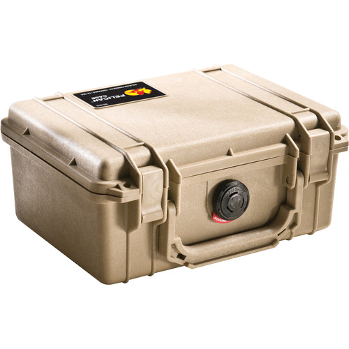 Pelican 1150 Case without Foam (Desert Tan)