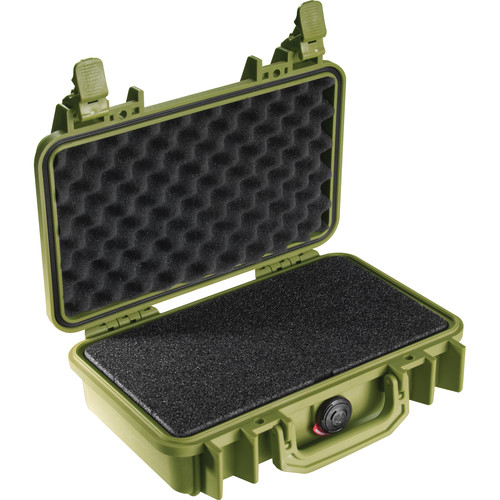 Pelican 1170 Case with Foam (Olive Drab Green)