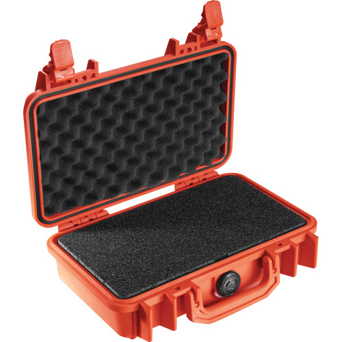 Pelican 1170 Case with Foam (Orange)