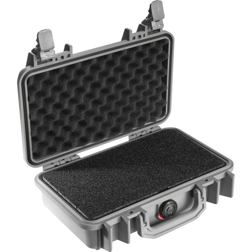 Pelican 1170 Case with Foam (Silver)