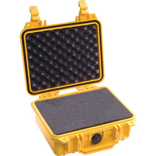 Pelican 1200 Case with Foam (Yellow)