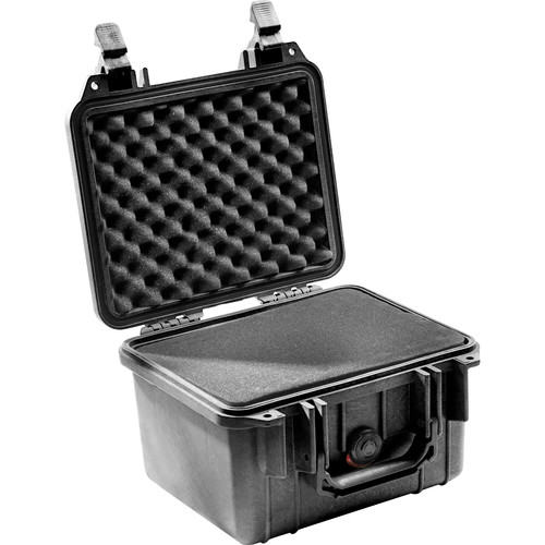 Pelican 1300 Case with Foam (Black)