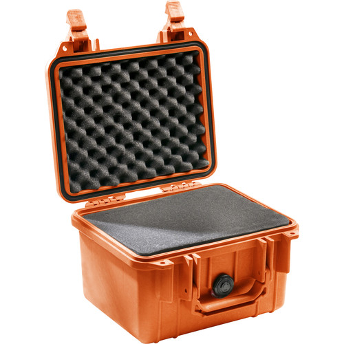 Pelican 1300 Case with Foam (Orange)