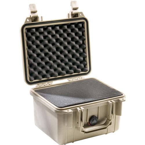 Pelican 1300 Case with Foam (Desert Tan)