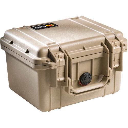 Pelican 1300 Case without Foam (Desert Tan)