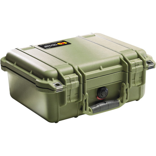 Pelican 1400NF Case without Foam (Olive Drab Green)