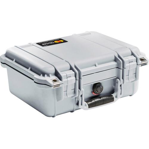Pelican 1400NF Case without Foam (Silver)