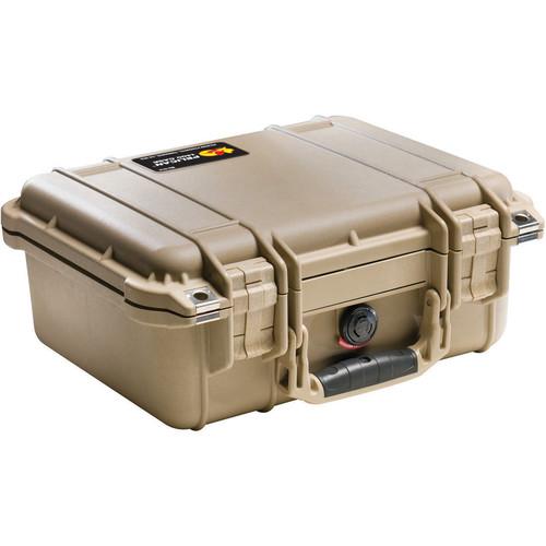 Pelican 1400NF Case (Desert Tan)