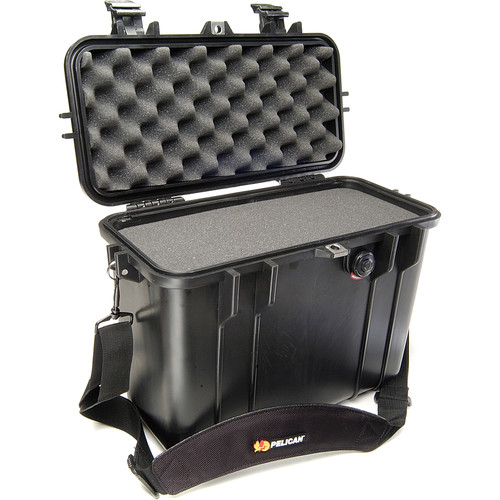 Pelican 1430 Top Loader Case with Foam (Black)