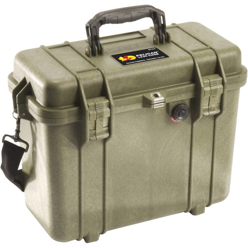 Pelican 1430NF Top Loader Case (Olive Drab)