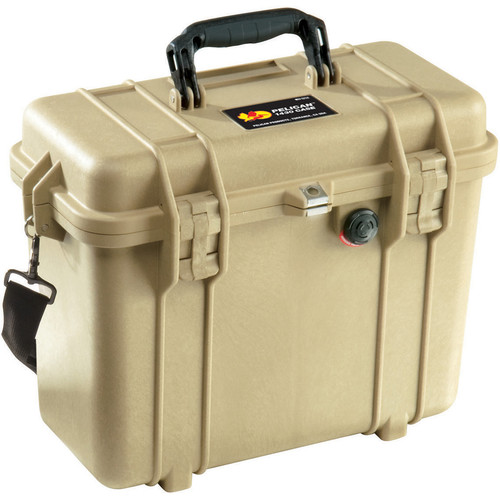 Pelican 1430NF Top Loader Case (Desert Tan)