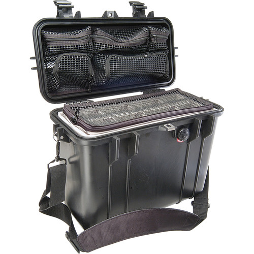 Pelican 1434 Top Loader 1430 Case with Photo Divider Set (Black)