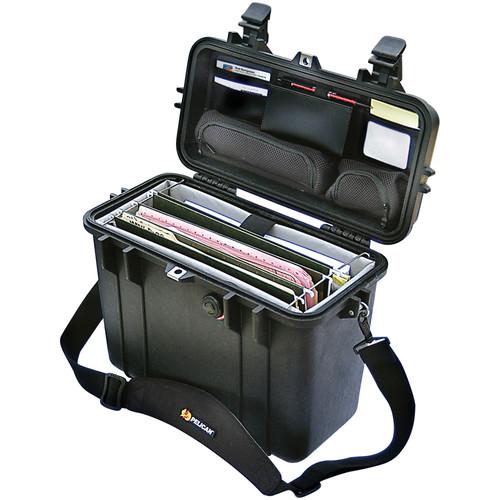 Pelican 1437 Top Loader 1430 Case with Office Divider Set (Black)