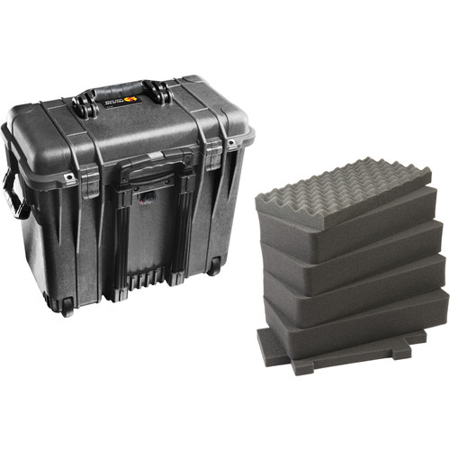 Pelican 1440 Top Loader Case with Foam (Black)