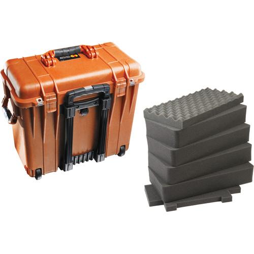 Pelican 1440 Top Loader Case with Foam (Orange)