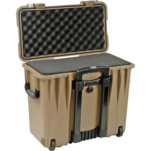 Pelican 1440 Top Loader Case with Foam (Desert Tan)