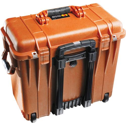 Pelican 1447 Top Loader 1440 Case with Office Divider (Orange)