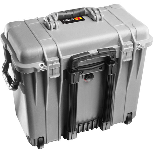Pelican 1447 Top Loader 1440 Case with Office Divider (Silver)