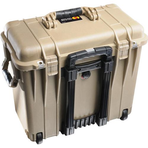 Pelican 1447 Top Loader 1440 Case with Office Divider (Desert Tan)