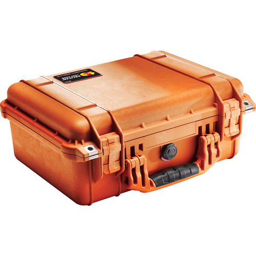 Pelican 1450NF Case without Foam (Orange)