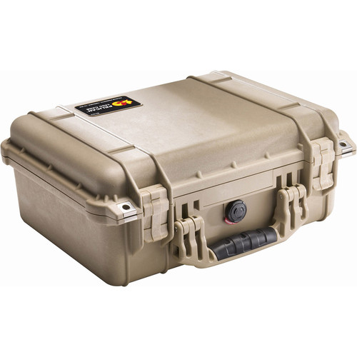 Pelican 1450NF Case without Foam (Desert Tan)