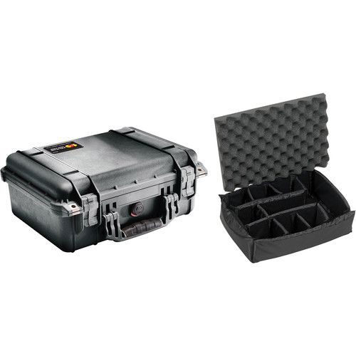 Pelican 1450 Case with Dividers (Black)