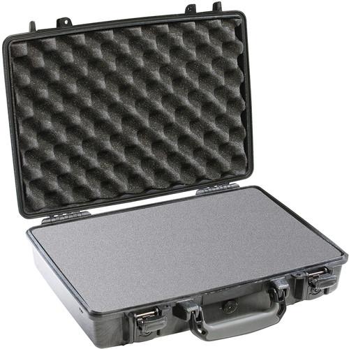 Pelican 1470 Computer Case with Foam (Black)